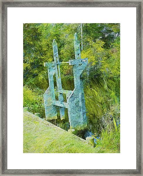 Rice Trunk - Faux Painting Framed Print