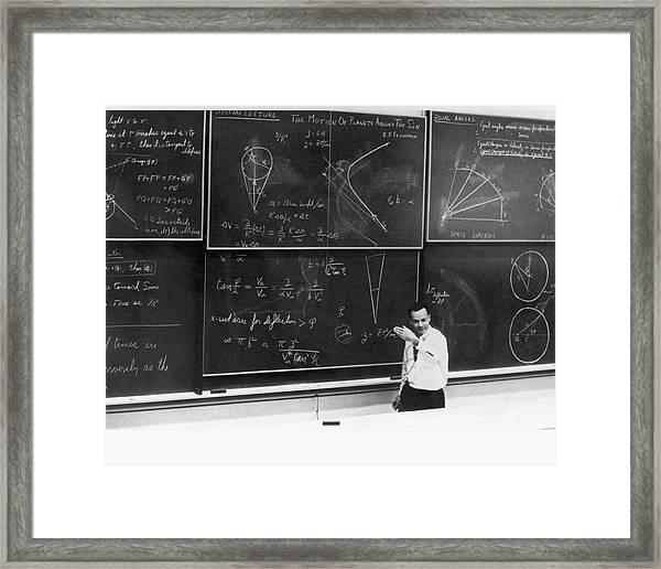 Richard Feynman Framed Print