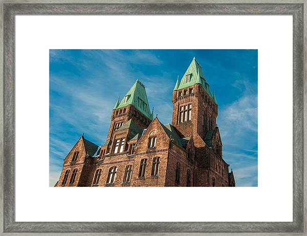 Richardson Complex 3d21972 Framed Print