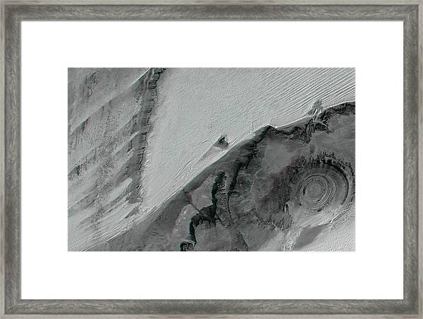 Richat Structure Framed Print