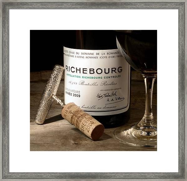 Richebourg Framed Print