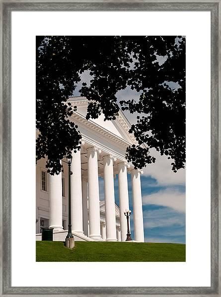 Richmond Capital Framed Print