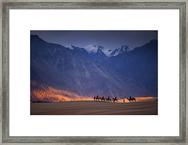 Ride Of The Dream Framed Print by copyright @ Sopon Chienwittayakun