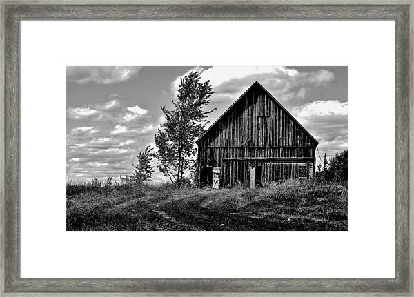 Ridge - Sentinel Winds - Blow - Canada Framed Print