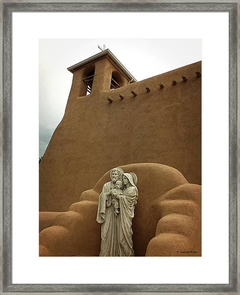 Righteous And Mercy Framed Print