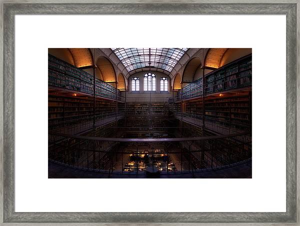 Rijksmuseum Library Framed Print