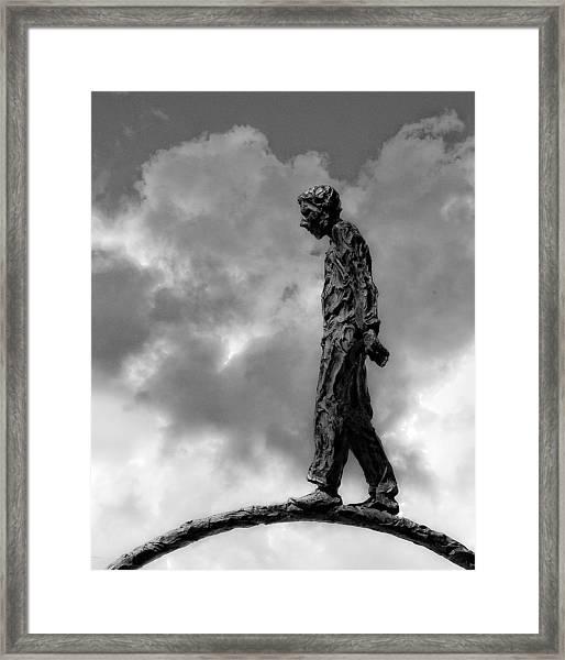 Ring Walker II Framed Print
