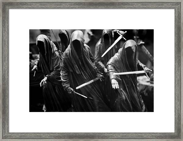 Ring-wraiths Framed Print