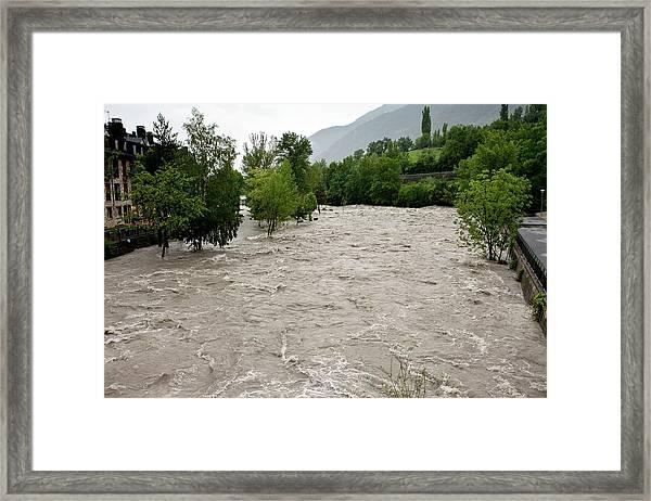 Rio Ara Flooding Framed Print