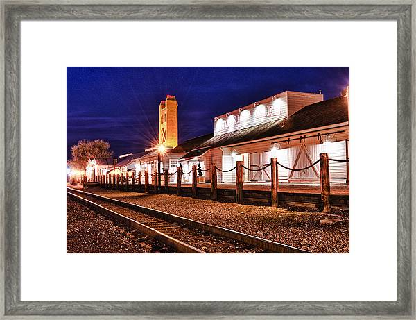 Framed Print featuring the photograph Rio City Cafe by Robert Rus
