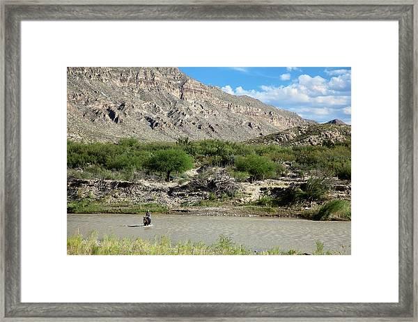 Rio Grande Framed Print by Jim West