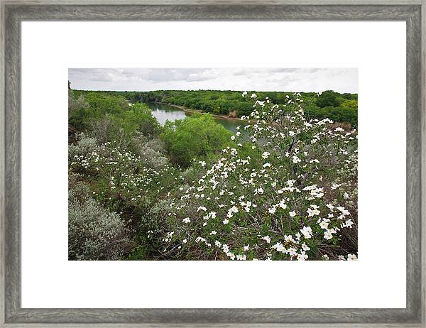 Rio Grande, South Texas Framed Print