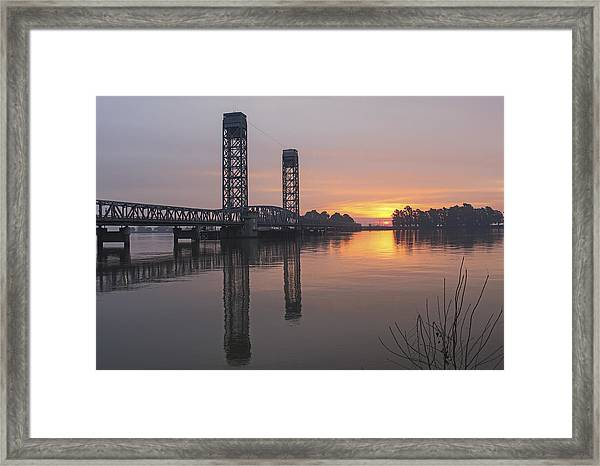 Rio Vista Bridge Framed Print