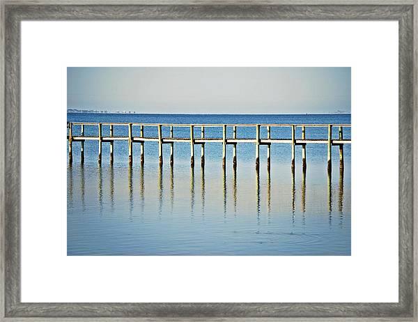 Rippled Reflections Framed Print