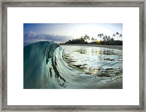 Rising Eagle Framed Print