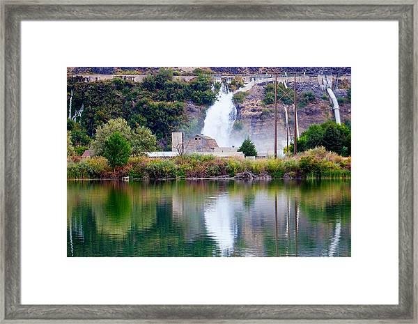 Ritter Island State Park Idaho Framed Print