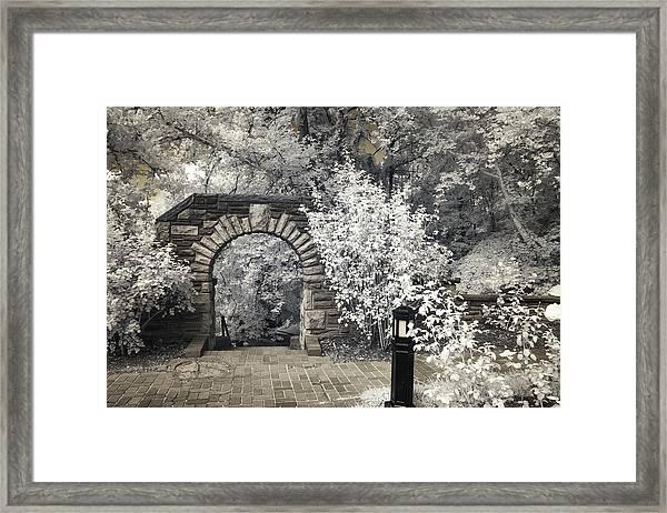 Ritter Park Arch Framed Print