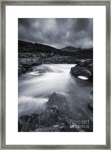 River At Sligachan Framed Print