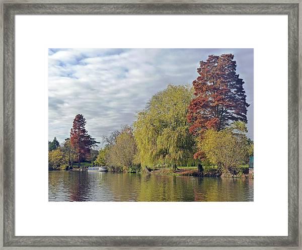 River Avon In Autumn Framed Print