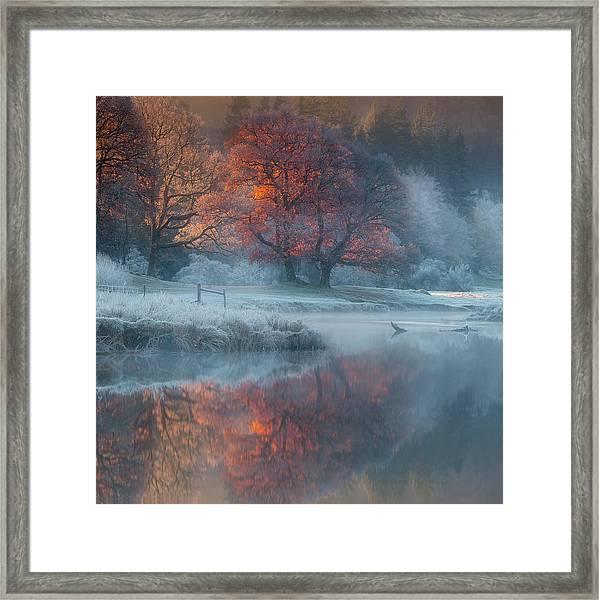 River Brathay Framed Print