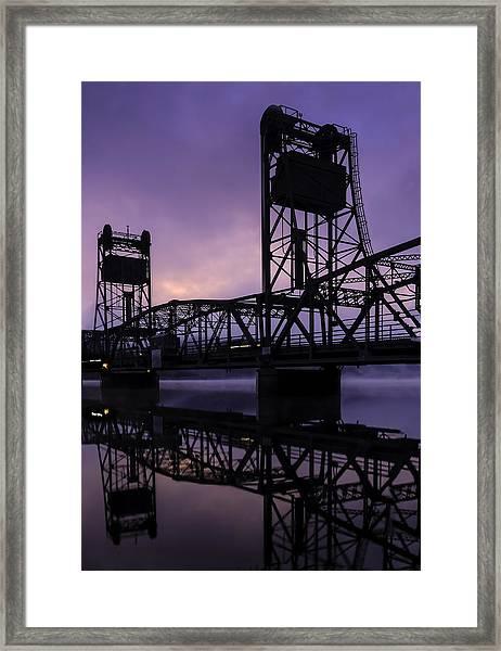 River Crossing No. 2 Framed Print