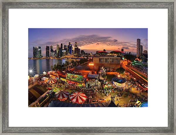 River Hong Bao 2015 Singapore Framed Print by Fiftymm99
