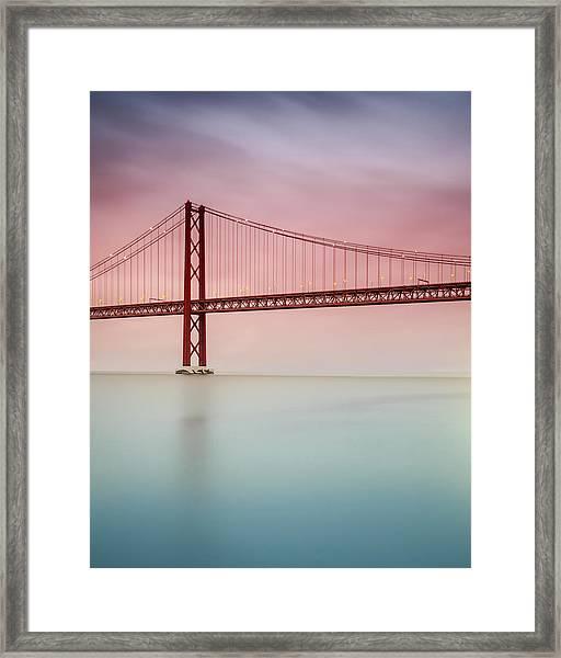 River Hues Framed Print by Landscape Photography
