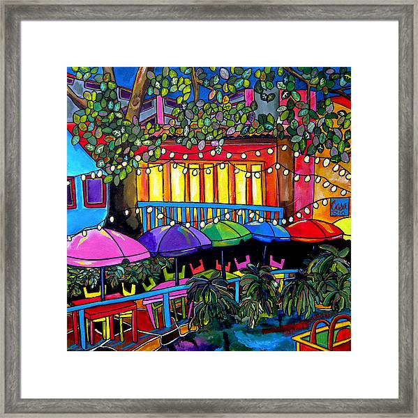 River In Color Framed Print