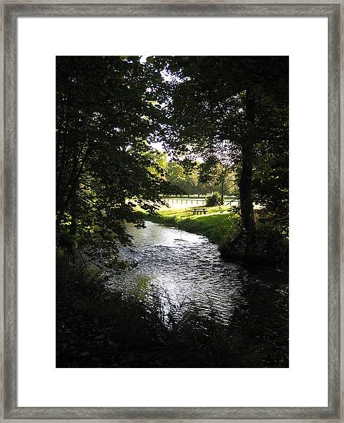 Framed Print featuring the photograph River Martin by Barbara Von Pagel