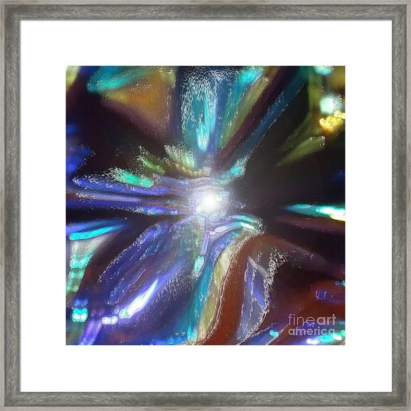 River Of Light Framed Print