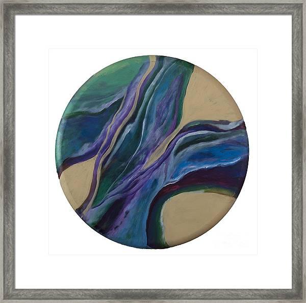 River Of Love Framed Print by Bebe Brookman