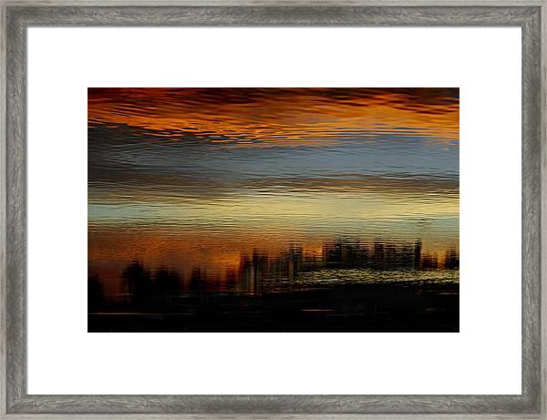 River Of Sky Framed Print