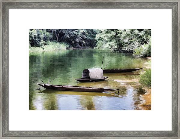 River Tribe Framed Print