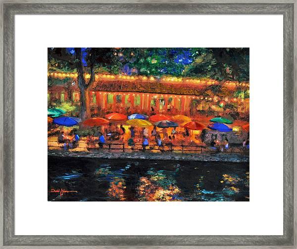 Da190 River Walk By Daniel Adams Framed Print