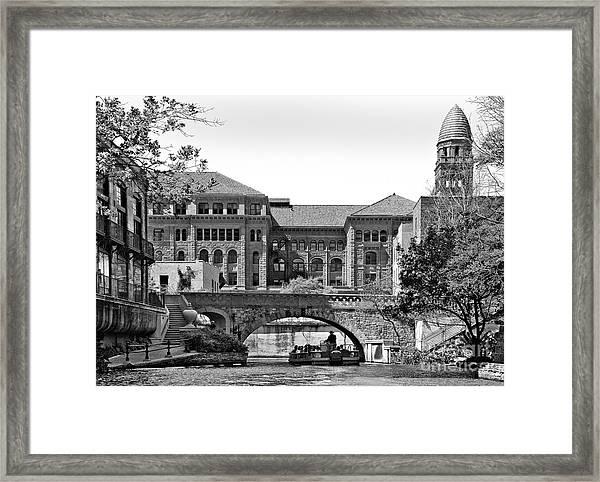 River Walk Framed Print by Mae Wertz