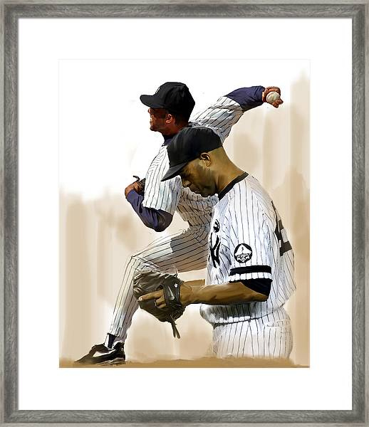 Rivera   Mariano Rivera  Framed Print