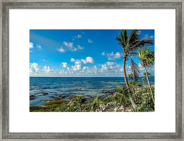 Cave Diving Country Framed Print