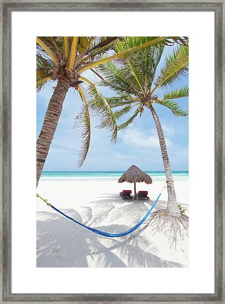 Riviera Maya, Mexico Framed Print