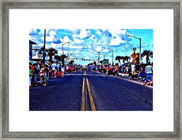 Road To Infinity Framed Print