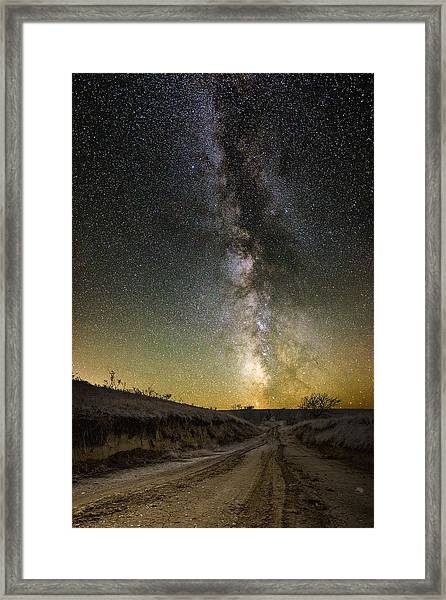 Road To Nowhere - Great Rift Framed Print
