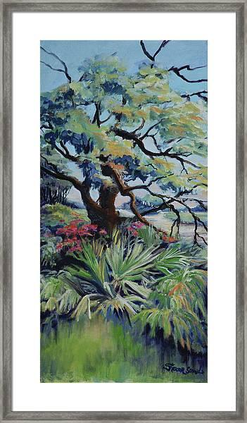 Roadside Garden Framed Print