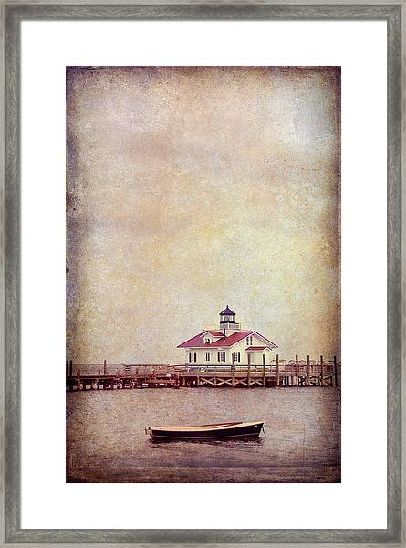 Roanoke Marsh Framed Print