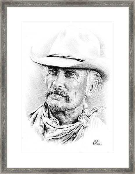 Robert Duvall Framed Print