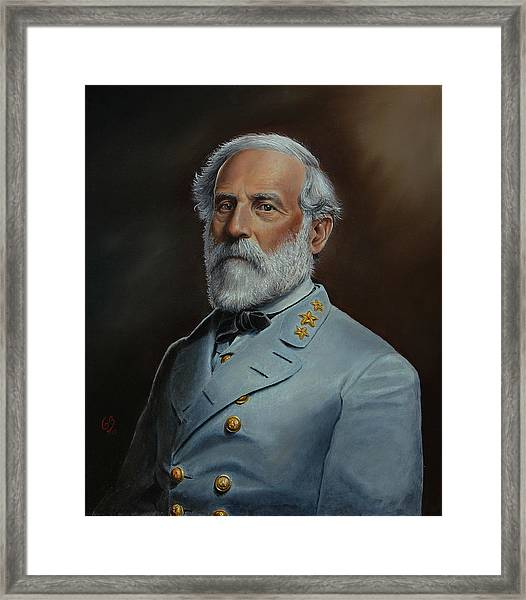 Robert E. Lee Framed Print