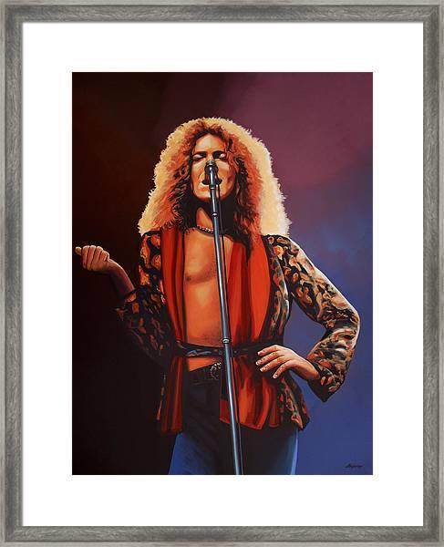 Robert Plant 2 Framed Print