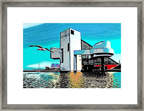 Rock And Roll Hall Of Fame - Cleveland Ohio - 4 Framed Print