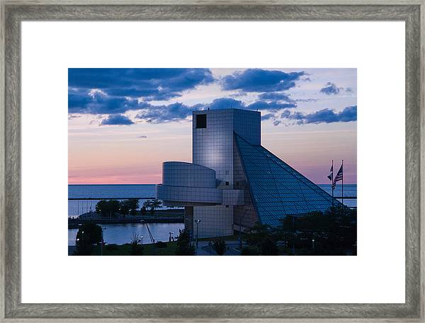 Rock And Roll Hall Of Fame Framed Print