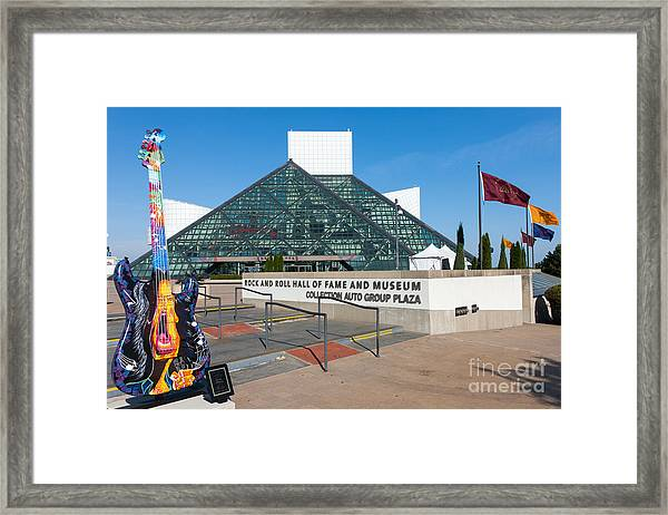 Rock And Roll Hall Of Fame IIi Framed Print