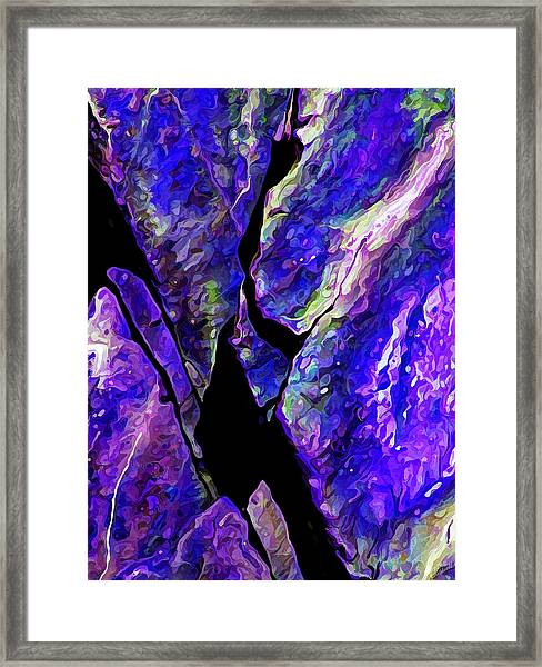 Rock Art 19 Framed Print