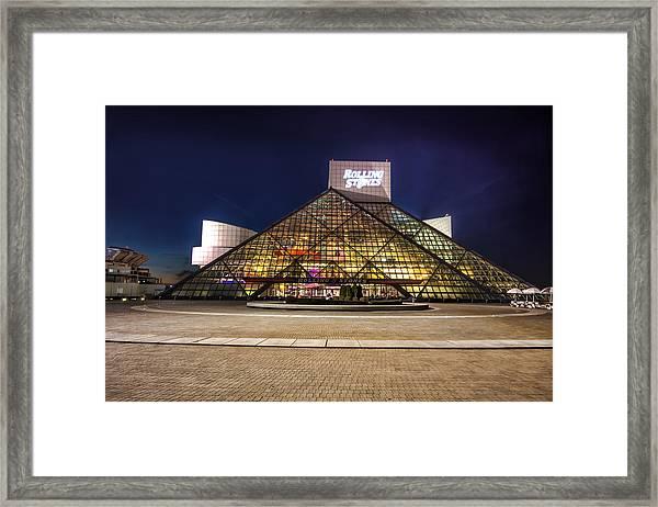 Rock Hall Framed Print